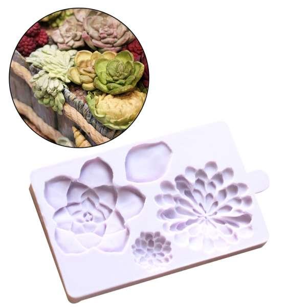 Plantilla cactus 4 formas