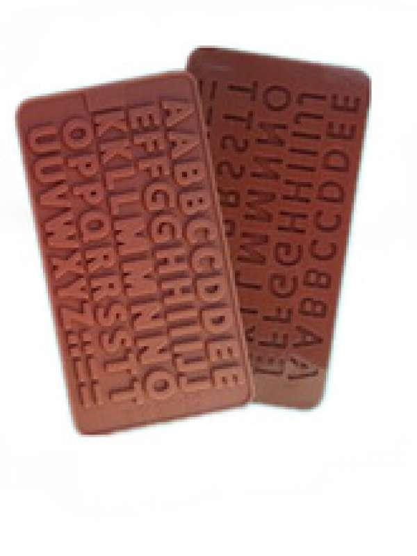 Chocolate letras
